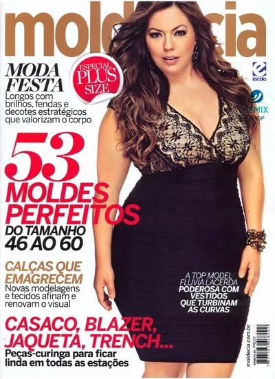 92352db5f1 4 Revistas Molde E Cia Plus Size Molde Grande - Frete Grátis - R  60 ...