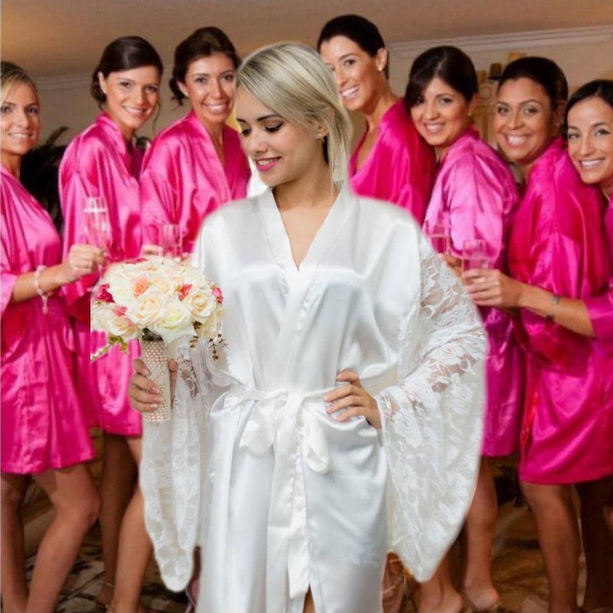 f6a0ab757 4  robe noiva + mãe + madrinha hobi roby robby roupao barato. Carregando  zoom.
