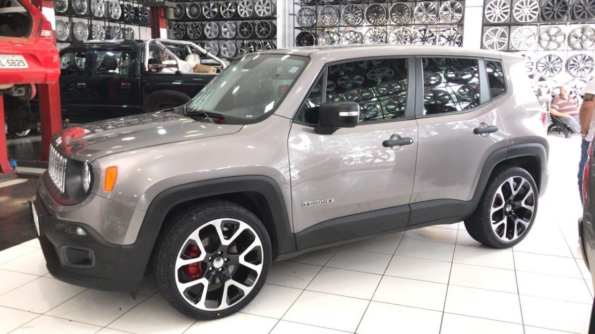 Jeep Renegade Limited >> 4 Roda Aro 20 Jeep Compass Limited 5x110 Renegade Toro - R$ 4.250,00 em Mercado Livre