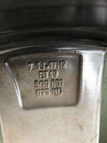 4 rodas brooklyn aro 17 5x112 originais golf gti mk7 c/ pneu