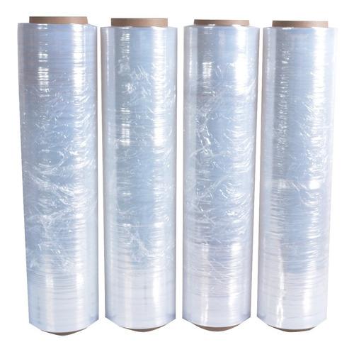 4 rollos de 18 x 1000 emplaye pelicula elastica stretch film