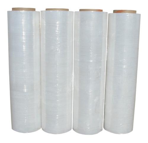 4 rollos emplaye 18 1500 plastico playo stretch envio gratis