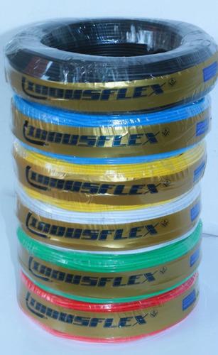 4 rolos de fio cabo flexível de 2,5mm 750v com 100 mts cada