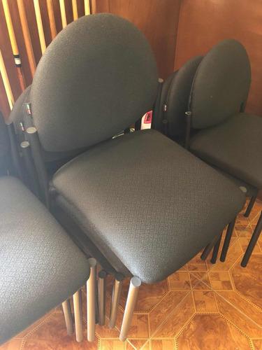 4 sillas de oficina acojinadas linea italia  ¡envío gratis!