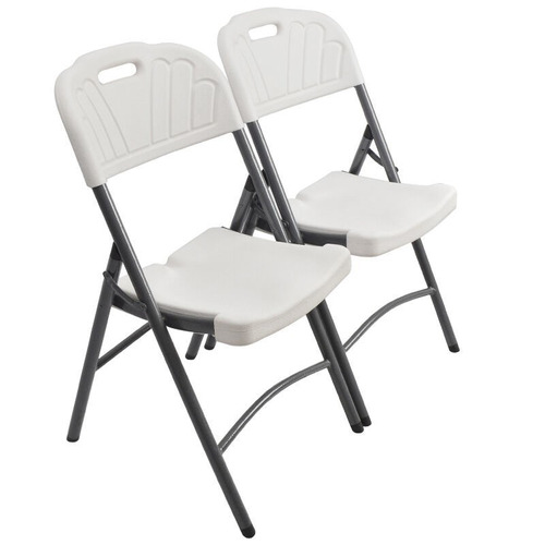 4  sillas plegable plástico reforzado envío gratis