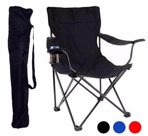 4 sillas plegables de playa  azules con envio gratis