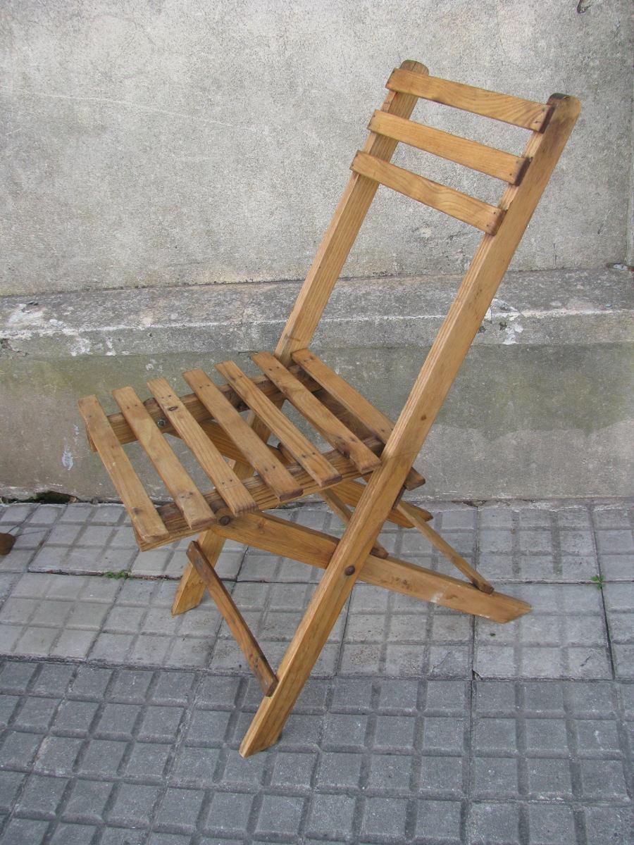 4 sillas plegables de roble en mercado libre - Sillas de roble ...
