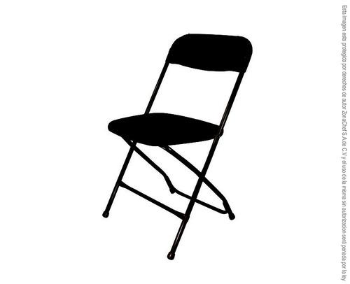 4 sillas plegables samsonite negras envio gratis nacional