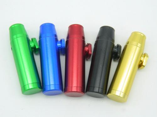 4 snuff bullet dosador rapé  alumínio energéticos