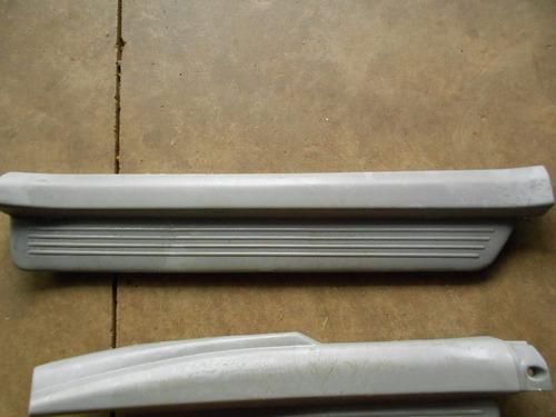 4 soleiras portas dianteiras traseiras corolla 98 à 2002