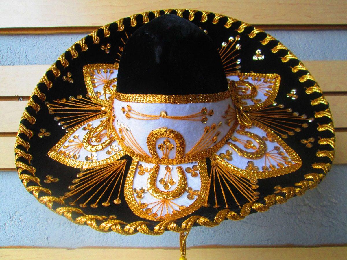 4 Sombrero Charro Niño Bebe Niño Adulto Fiesta Traje Xv Años ... cf6d0cc325f