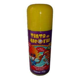 4 Spray Colorido Para Cabelo Lavável 120ml