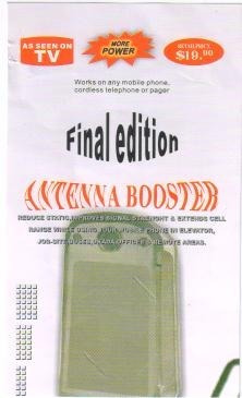 4 super antena amplificadora booster final edition+ potencia