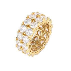 bd5d73fa91ee Piocha De Oro Con Diamantes - Joyería Anillos Sin Piedras en Mercado ...