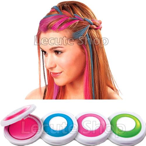 4 tinte pintura temporal cabello pelo gis colores hot huez - Tinte para pintura ...