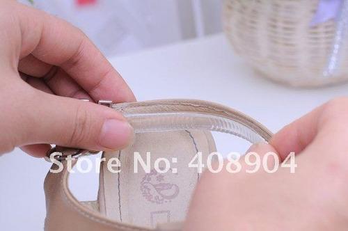 4 tiras protector de talon para zapatos de silicon adherible