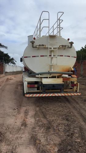 4 unidades caminhões 2726 6x4 ano 2011 tanque pipa 20 mil l
