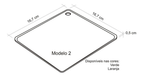 4 unidades descanso de panela em silicone - laranja verde
