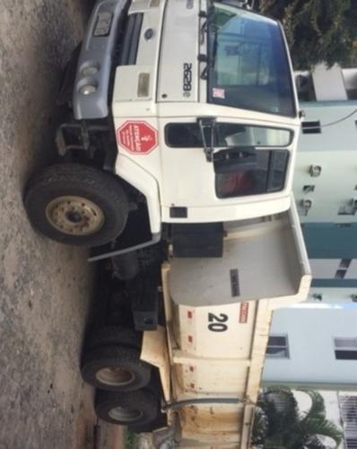 4 unidades ford cargo 2628 6x4 ano 2011/2011 caçamba facchin