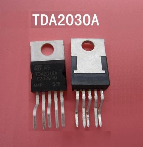 4 unidades tda2030 2030a ic amplificador de audio a 14w hifi
