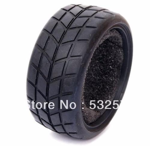 4 unids racing speed rubber esponja  carro nitro 1:10
