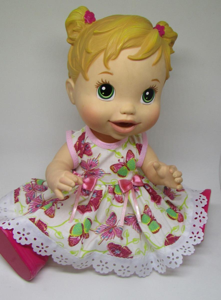 1a0c0c6861 4 vestidos 4 calcinhas para boneca baby alive. Carregando zoom.