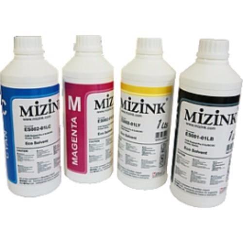 4 x 250ml tinta corante mizink para pro 7612/7610/7110