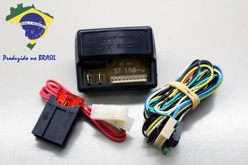 4 x alarme bloqueador automotivo veicular smartsat st150