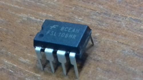 4 x circuito integrado fsl106 hr dip8 * original * fonte tv