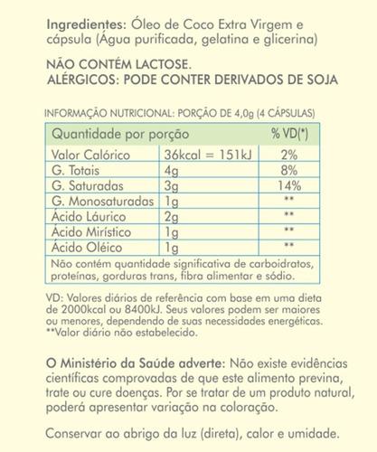 4 x cloreto de magnésio pa 1kg + 1 óleo de coco nutramagic