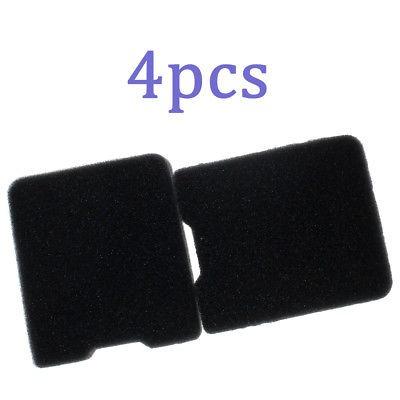 4 x filtro de aire para sopladores husqvarna 145bf 155bf