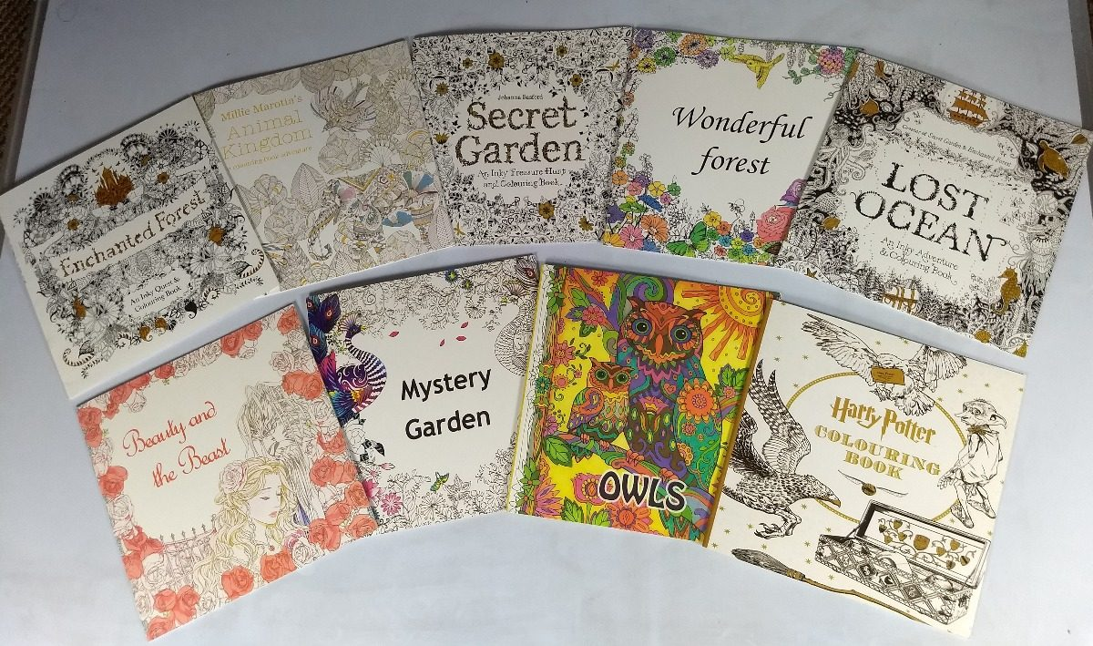 4 X Libros Para Colorear Secret Garden, Lost Ocean, Y Más! - $ 9.990 ...