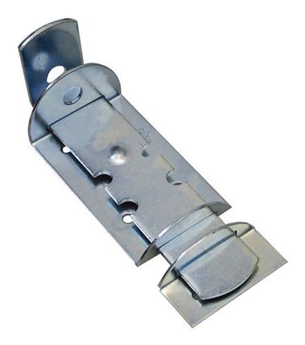4 x trinco fecho ferrolho para cadeado 18 cm porta portão
