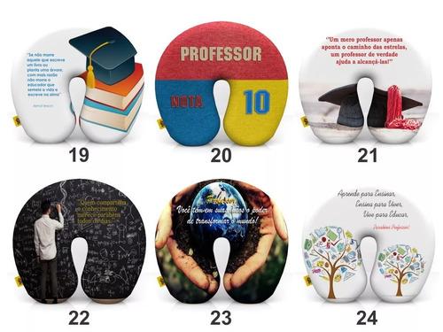 40 almofadas de pescoço lembrança dia do professor atacado