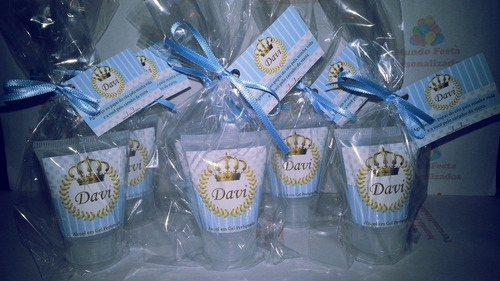 40 bisnagas hidratante lembrancinha maternidade chá fralda