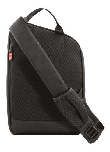 4.0 bolso negro con correa transversal  protección rfid