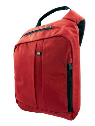 4.0 bolso rojo con correa transversal con protección rfid