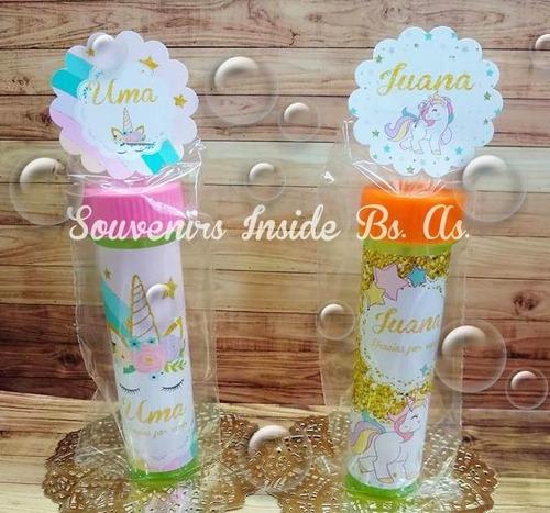 40 burbujeros souvenir personalizados fiesta cumple + envio