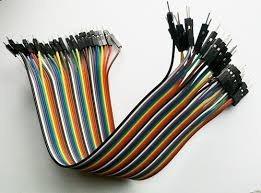 40 cables macho - macho 20 cm arduino pic rasberry pi dupont