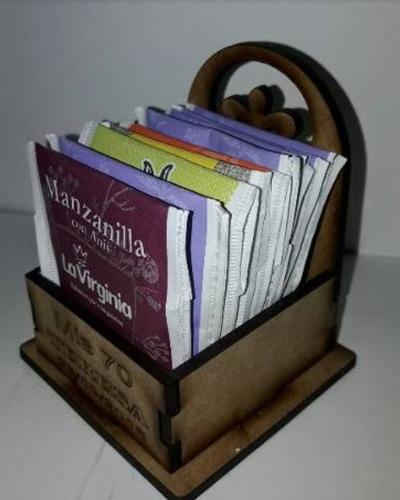 40 cajitas te simples personalizadas