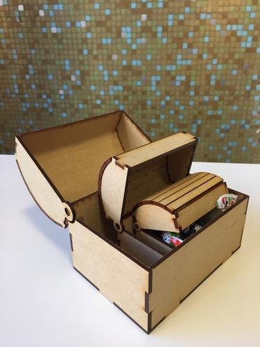 40 cajon cofre souvenir mini fibrofacil
