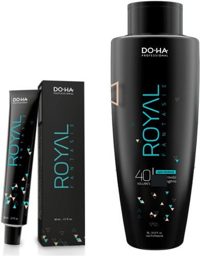 40 colorações doctor hair royal fantasie do.ha