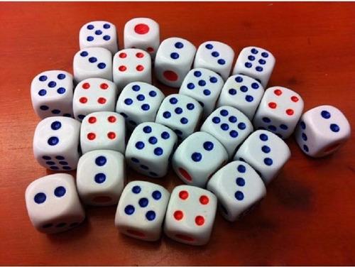 40 dados jogos tabuleiros rpg dado enfeite oferta
