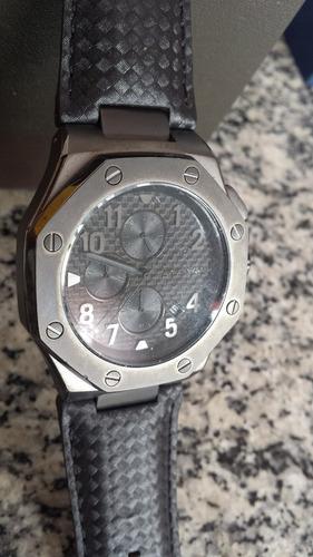 40% desconto relogio michael kors mk8224 chronograph - 45mm