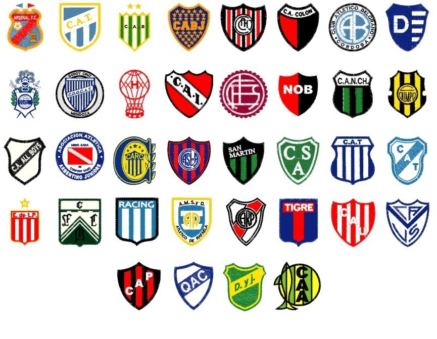 40 escudos futbol argentino matrices p  maquinas bordado. Cargando zoom. ae65e6fa4c0ae