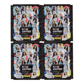 40 Figurinhas E 10 Cards Do Album Now United (10 Envelope)