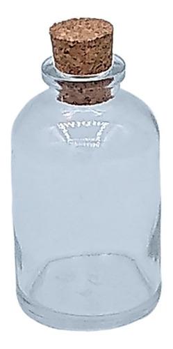 40  frascos de vidro 30ml c/rolha garrafinha penicilina