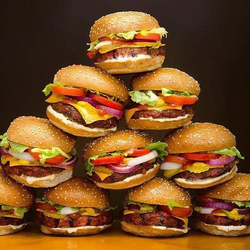 40 hamburguesas gigantes victoria