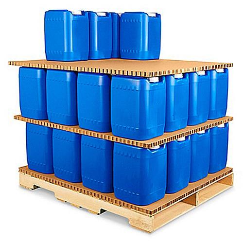 40 laminas tipo panal de carton para tarimas de 40x48x1 for Laminas de carton