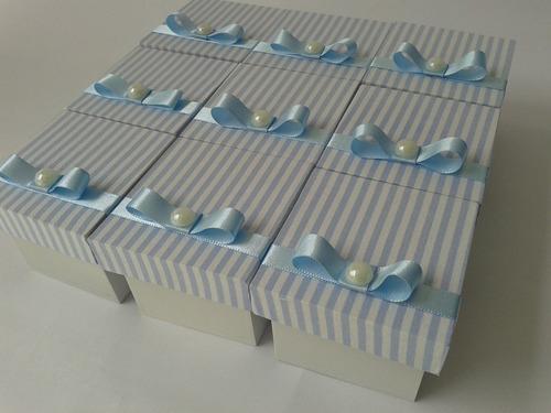 40 lembrancinhas caixinhas de mdf  revestidas em tecido